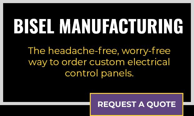 Bisel Manufacturing custom electrical control panels