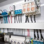 Bisel Manufacturing quality wiring in control panel